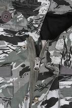 Diamond Supply Co. Men's Camouflage M65 Jacket NWT Grey image 3