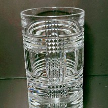 1 (One) RALPH LAUREN GLEN PLAID Lead Crystal Double Old Fashion Glass-Si... - $14.24