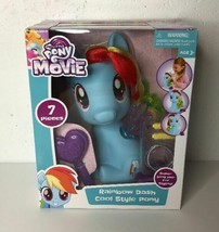 My Little Pony the Movie~Rainbow Dash Cool Style Pony~by Hasbro~Factory ... - $24.74