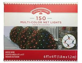 Holiday Multi-Color Net Lights - 6ft x 4ft - 150 Lights - $41.26