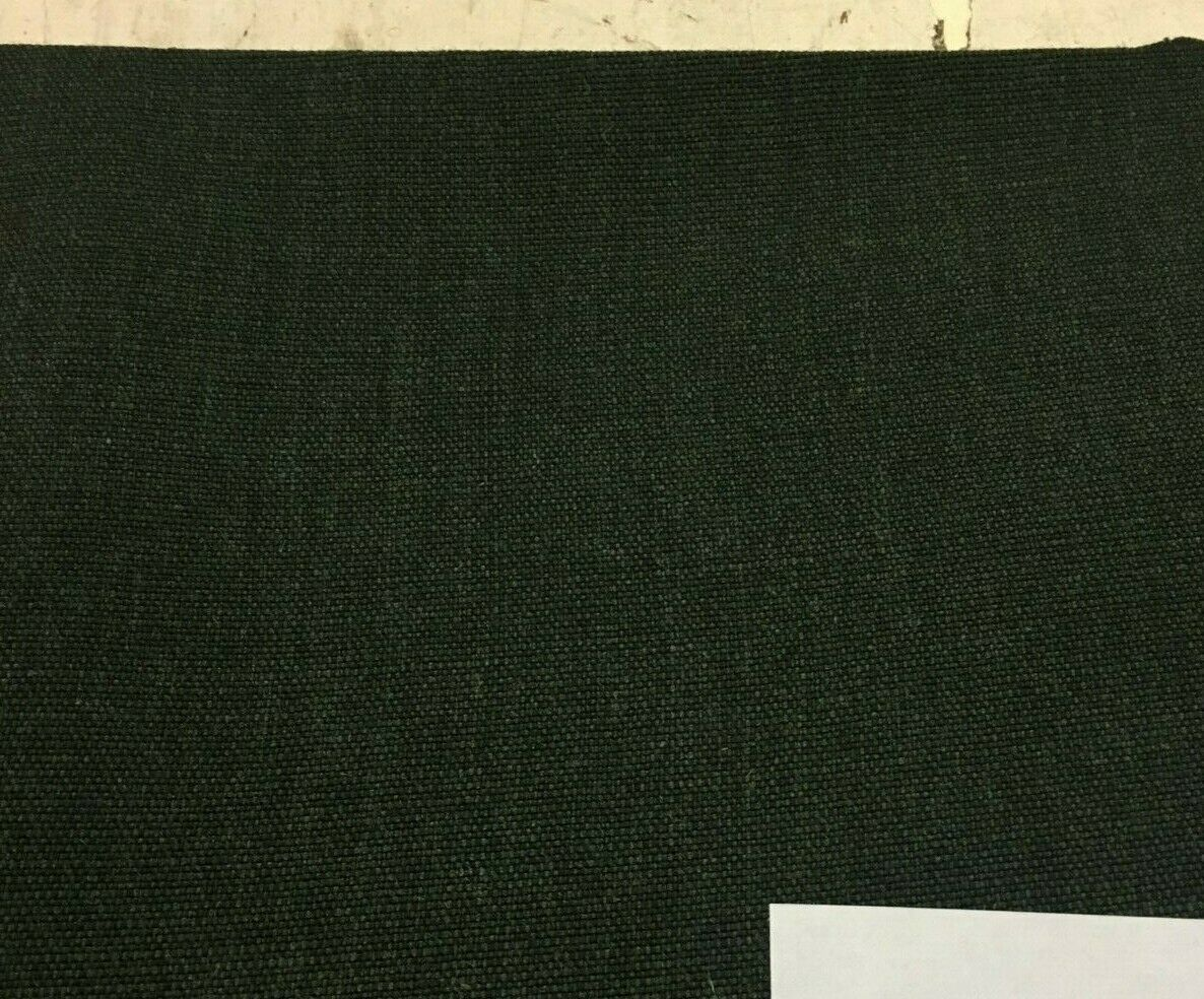 Maharam Upholstery Fabric Kvadrat Canvas Dark Green Wool 466185 9.625 yds CD