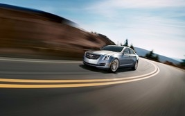 2015 Cadillac ATS, 24X36 inch poster, front profile, luxury sedan  - $18.99