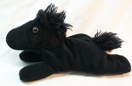 "Unipak SOFT BLACK HORSE PONY 7"" Plush STUFFED ANIMAL Toy - $14.85"