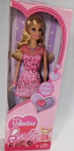 Mattel Barbie Be My Valentine Original Box I Love Barbie Ring Collector ... - $9.28