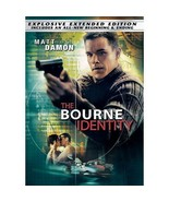 The Bourne Identity (DVD, 2004, The Explosive, Extended Edition - Widesc... - $0.99
