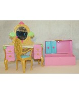 Barbie As The Island Princess Getting Ready With Tallulah Playset Furniture - $39.95
