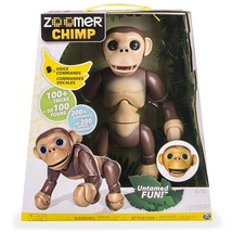 Zoomer Chimp 100+ Tricks 200+ Sounds Voice Commands by Spin Master NEW - $62.99