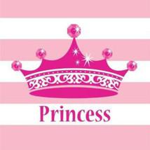 Pink Princess Royalty Lunch Napkins - $4.45