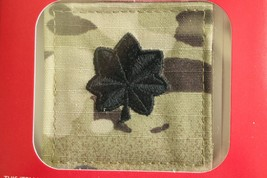 Us Army Gi Multicam Ocp O-5 Ltc Hook Back Camouflage Camo Uniform Rank Patch - $5.93