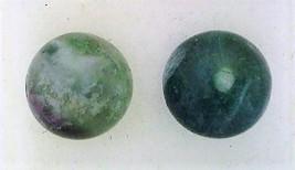 Fluorite Gemstone 8mm Stud Earrings 2 - $13.35