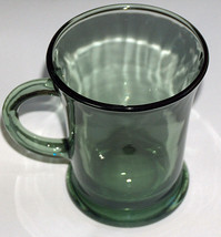 Anchor Hocking 4 1/2 Clear Green Replacement Glass Mug Coffee Tea Cup US... - $17.72