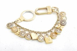LOUIS VUITTON Porte Cles Chaine Pastilles Bag Charm Key Chain M65386 Aut... - $360.00