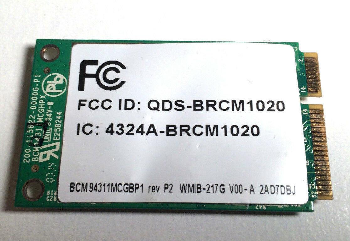 HP Compaq Presario V3400 V3600 V6000 V6000T Wireless Card Mini PCI PCI-e WIFI