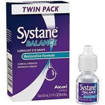 Systane Balance Lubricant Eye Drops, Twin Pack, 10-mL Each - $28.95