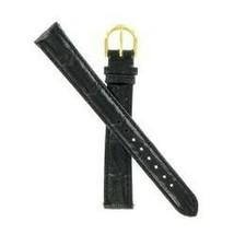 Timex 16mm Black Croco Grain Tx30416bk SHIPSFREE - $9.95