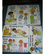 Health Poster Prints 70s Teacher Supplies - Classroom Artwork by Gini Bu... - $34.20