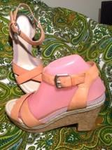 Easy Spirit Gosalyn Anti Gravity Women's Leather Open Toe Ankle Strap Sandals 8M - $49.49