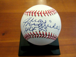 JUAN MARICHAL HOF 83 SAN FRANCISCO GIANTS PITCHER SIGNED AUTO OML BASEBA... - $118.79