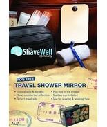 Fog-Free Travel Mirror, Shave, Razor, Bath, Room, Décor,Home,Shower,Make... - $19.95