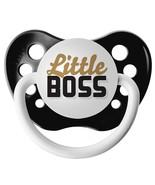 Little Boss Pacifier - Black - Ulubulu - Unisex - 0-18 months - Boss Bab... - $6.99