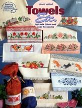 Cross Stitch Towels Etc. American School Roses, Bunnies, Chickens, Teddi... - $5.95