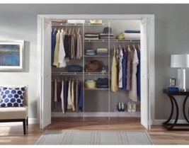 Kit Shoe Closet Organizer Shelf 5' 8' Shelves S... - $71.53