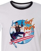 Surf nazis must die t shirt retro 80 s horror troma tee for sale online store ringer thumb200