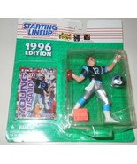 Kerry Collins 1996 Starting Lineup Football Action Figure Kenner SLU Pan... - $10.75