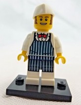 Lego Collectible Mini Figure Retired Butcher Series 6 8827 col094 - $5.99