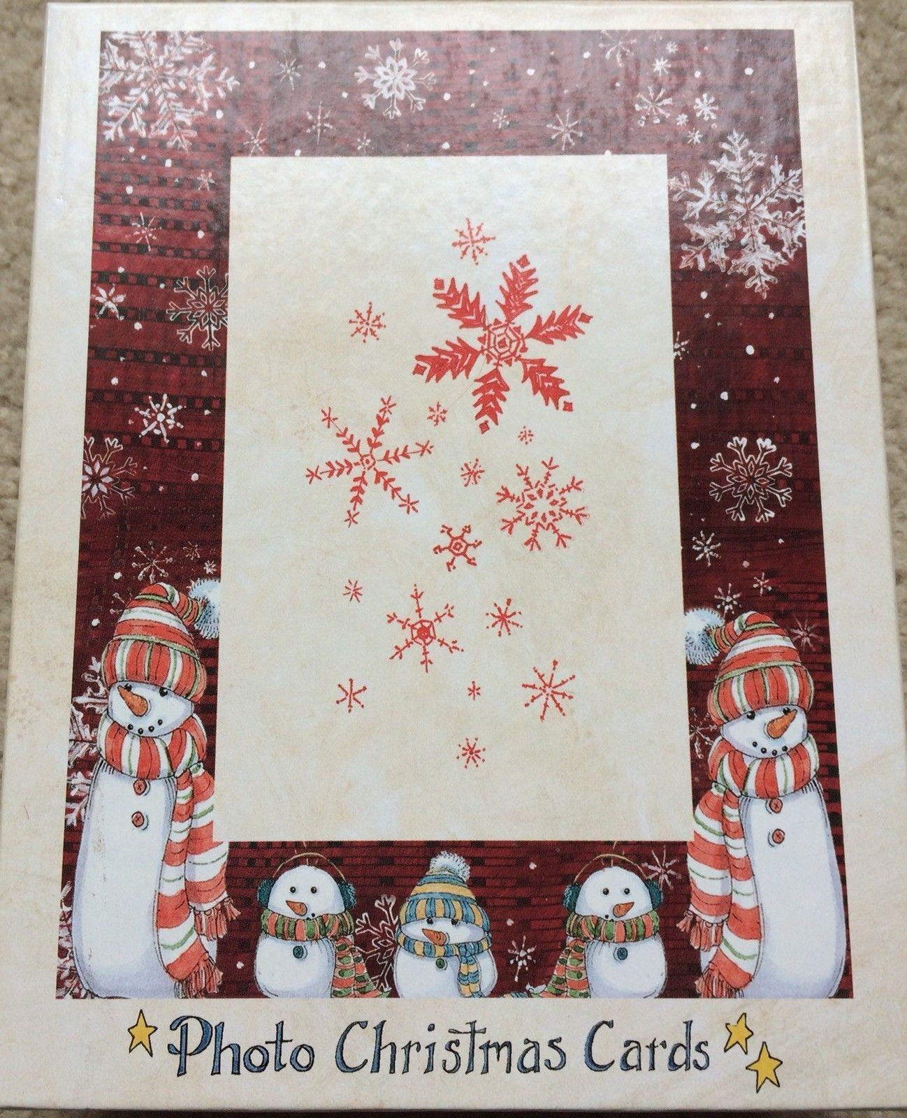 NIB 13ct Lang boxed photo Christmas cards and 50 similar items
