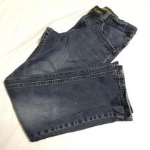 Boys Lee Sports Series Jeans, Size 10, Adjustable Waist, Dark Wash - $14.84
