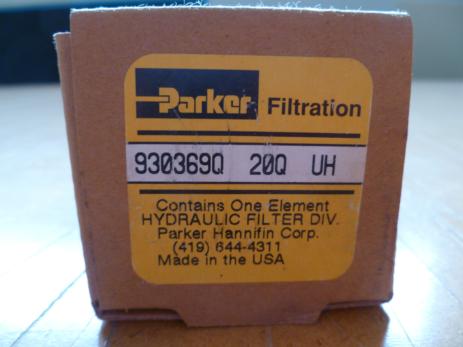 Parker Filtration 930369Q 20Q UH Hydraulic and 21 similar items