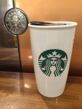 Starbucks Classic Double Wall Ceramic Traveler, 12 fl oz New! Fast Ship!!! - $23.45