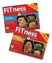 $79 for 10 KETO Diet FITness Meals 5 Turkey and 5 Pulled Pork - $79.00