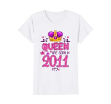 Funny Shirts - Queens born in 2011 7th Birthday Gifts 7 years old awesom... - $19.95+