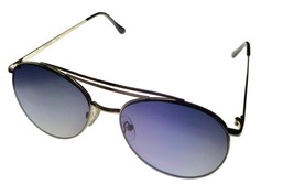 Kenneth Cole Reaction Mens Sunglass S. Silver Gold Metal Aviator, KC1365. 10W - $17.99