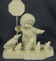 Snowbabies School Crossing 69668 Department 56 Figurine Retired Boxed 2006 - $17.95