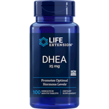 NEW Life Extension DH EA 25mg Maintains Youthful Hormone Balance 100 Cap... - $12.85