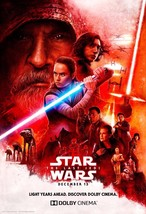 "Star Wars The Last Jedi Movie Poster Dolby Film Art Print 13x20"" 24x36"" ... - $9.80+"