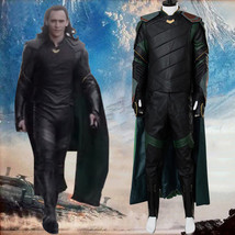 The Avengers Thor 3 Ragnarok Loki Tom Sakaar Outfit Cape Cosplay Costume... - $195.00+