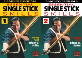 2 DVD SET Lameco Eskrima Practical Self Defense Martial Arts Edgar Sulite - $39.50