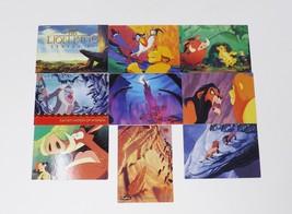 Skybox Lion King Series II Walt Disney Trading Cards - 9 Card Lot - $7.59