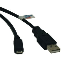 Tripp Lite U050-006 USB 2.0 Hi-Speed A-Male to Micro B-Male Cable (6ft) - $23.09
