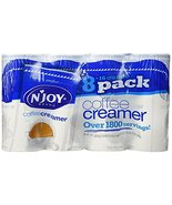 N-Joy Original Powdered Coffee Creamer 16oz 8ct (Pack of 2) - $44.52