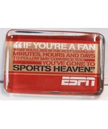 Hallmark 1ESP7629 ESPN Sports Theme Paperweight Multi Color - £12.04 GBP