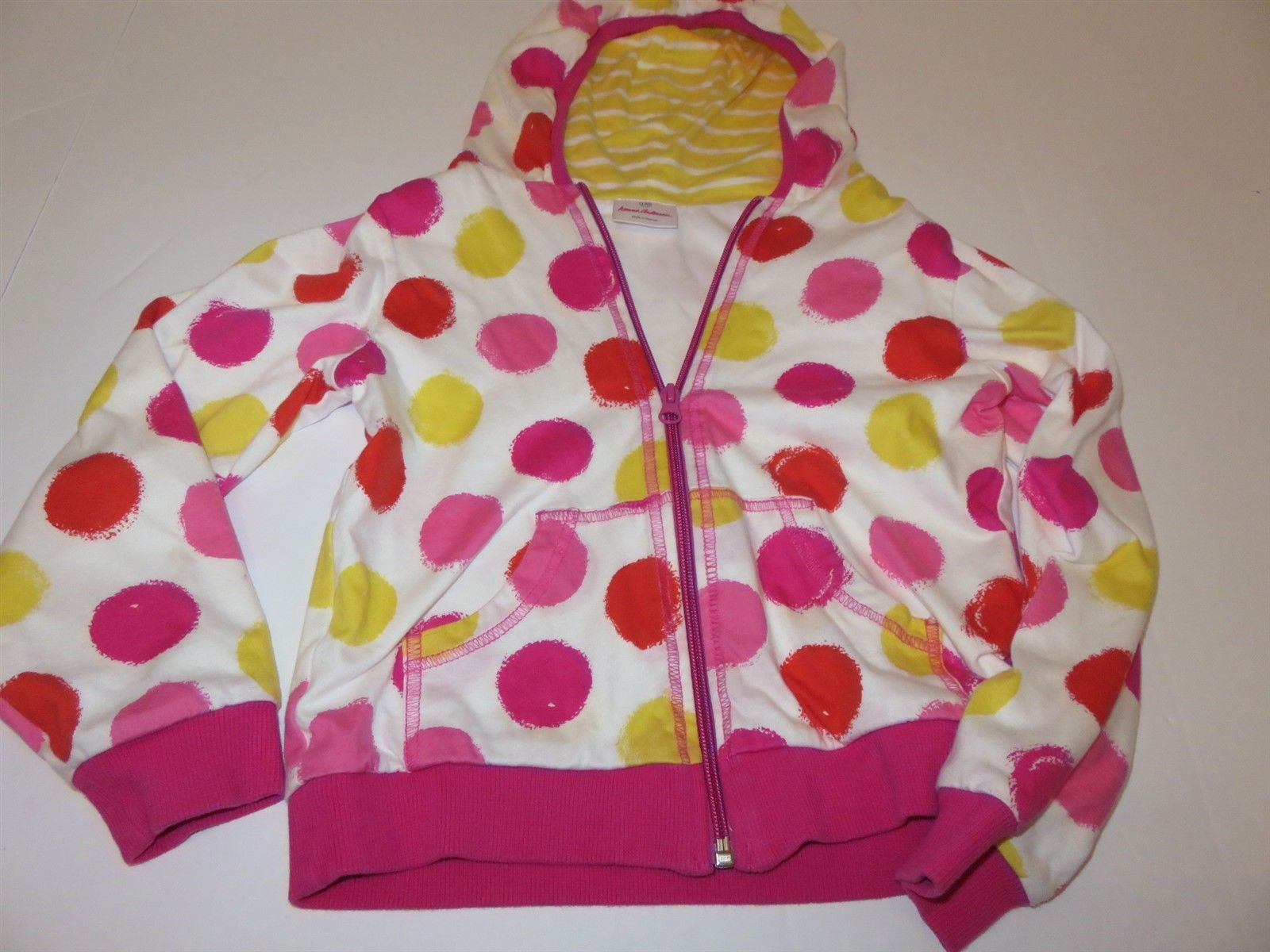 5223bc79a86d Hanna Andersson Girls Dot Hoodie 130 US 8 EUC and similar items