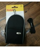 Kodak Mini Black Graphite Point & Shoot Camera Bag Case Generic w/should... - $9.85