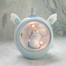 Cartoon Unicorn LED Night Light Baby Nursery Lamps Table Decorative Figu... - $16.00