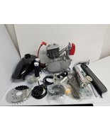 PK80 4 HP 80CC Bicycle Engine Kit Silver Factory Ported G4 Cylinder - $139.00