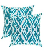 TreeWool, (2 Pack) Throw Pillow Covers Ikat Ogee Diamond Accent Decorati... - $17.99